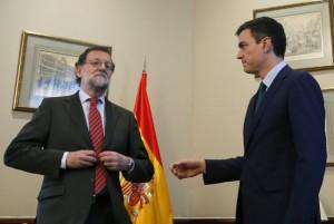 Saludo Rajoy Pedro