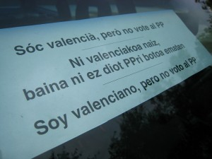 041- Cartell SOC VALENCIA. Port Urkiola. Euskadi. 2-6-2008
