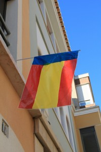 Bandera Blavera Espanyola (02) C.Santa Teresa. Sueca. 9-10-2015