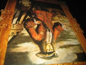 De Nit a Manyana (164) Ultim Toc Teatre. Casal JI. Sueca. 26-5-2007 -- Quadre Felip V. Borbo Invertit. Crema Xativa
