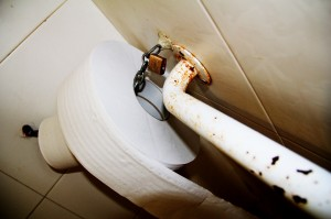 Paper WC. Cadenat (03.B) Corrupcio.BO. Mercat Central. Sueca.27-11-2013