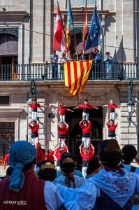 Nom oficial Pais Valencia. Festa (031) 4 Pilars. Andrea. Pl.Ajunt.Sueca.9-10-2014 -COMPLET