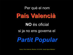 Per que nom Pais Valencia no es Oficial (8-3-2016) -PNG