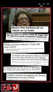 Muertes Caso Gurtel. Rita Barbera (Muere. Infarto. 23-11-2016)