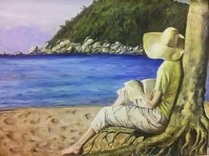 lectura vora mar