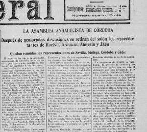 Asamblea Andalucista de Córdoba